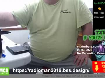 [03-09-20] radiomankceg record show with cum from Chaturbate.com