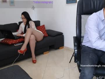 [17-05-19] bizarrelovetriangle public webcam from Chaturbate.com